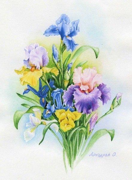 Fleurs et jardins en peinture page 35 for Fleurs et jardins