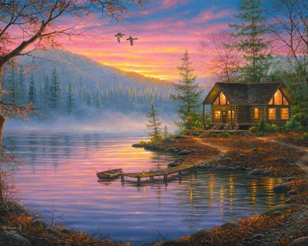 12-Beaux tableaux d' Abraham Hunter