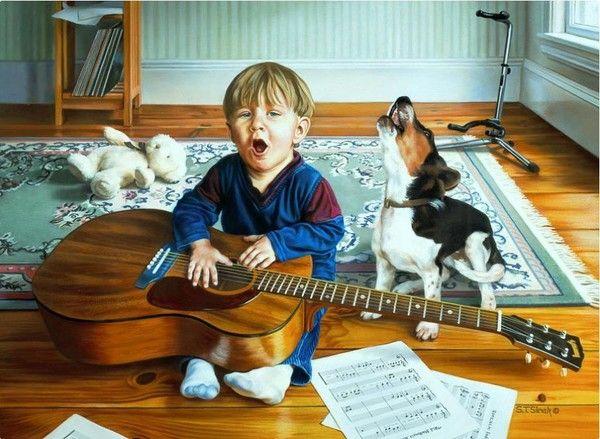 12- Beaux tableaux de Tom Sierak