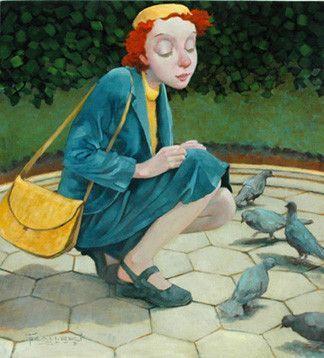 Beaux tableaux de Fred Calleri