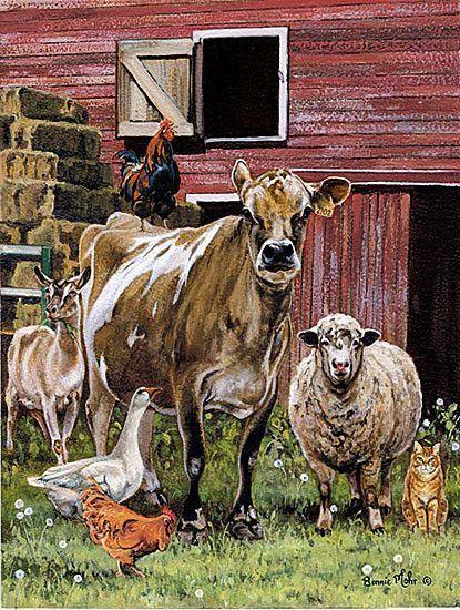 Peinture de Bonnie Mhor dans Arche de Noé 1f307317