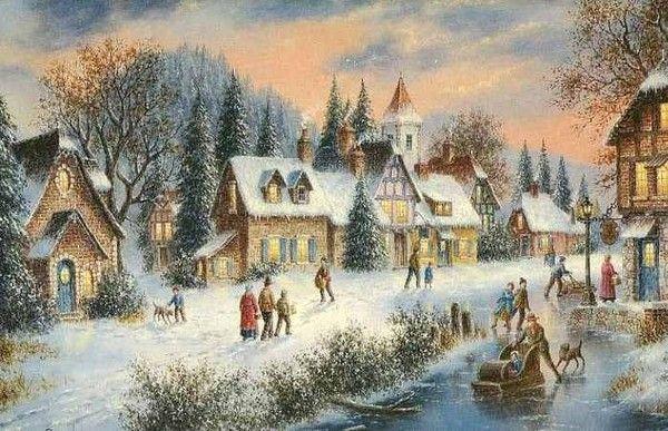 Les images de Noël (Paysages et illustrations féeriques) - Page 2 24595389