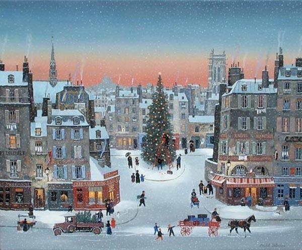 L hiver en peinture 25b36a85