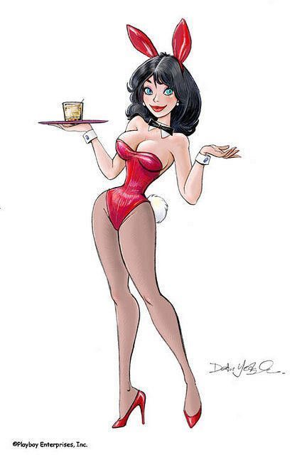 sexy playboy drawings of girls