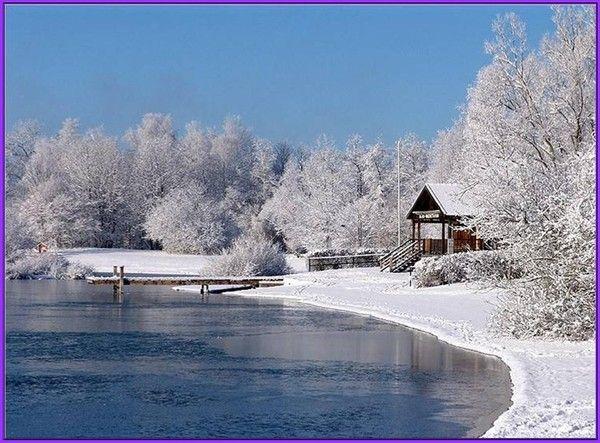Les images de Noël (Paysages et illustrations féeriques) 2a8edee4