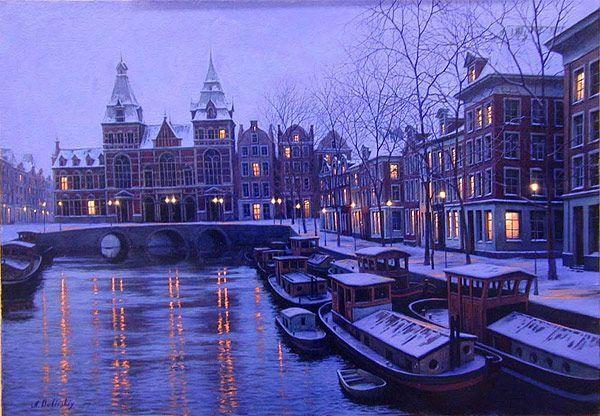 L hiver en peinture 2rmzapkh