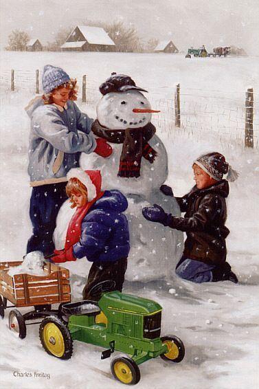 L hiver en peinture 2yi1ymng