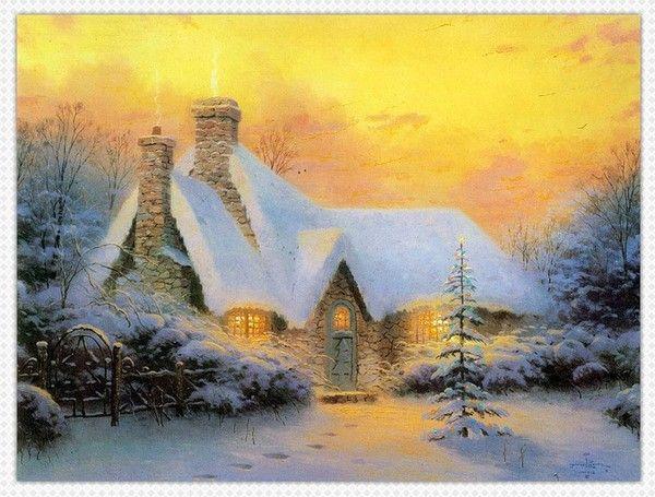 Les images de Noël (Paysages et illustrations féeriques) - Page 2 30d0c375