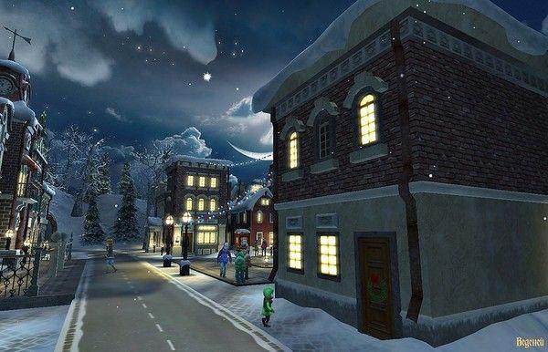 Les images de Noël (Paysages et illustrations féeriques) 346425c8