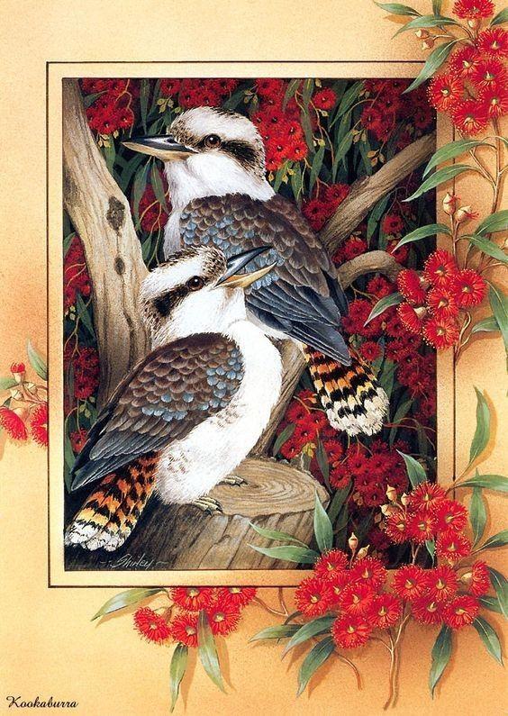 oiseaux peints