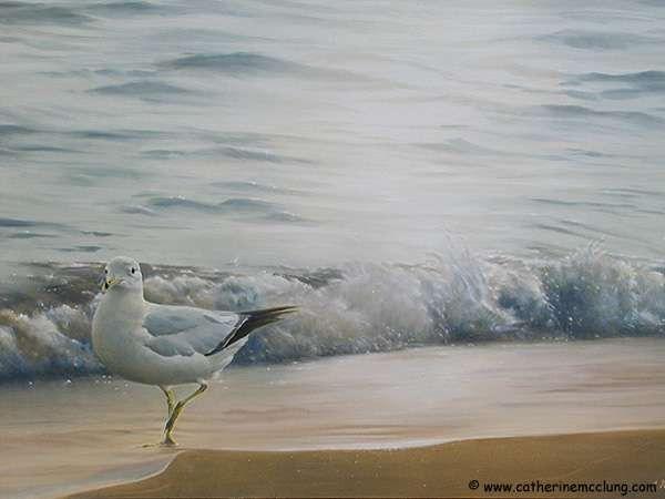 Beaux oiseaux peints par Catherine McClung