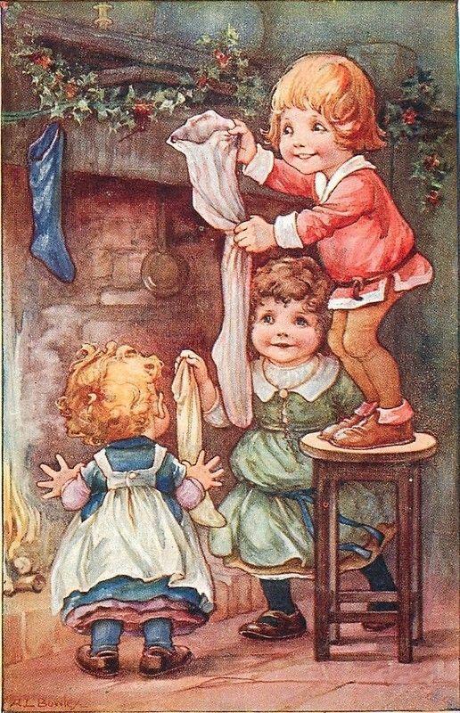 Les images de Noël (Paysages et illustrations féeriques) - Page 2 43a72617
