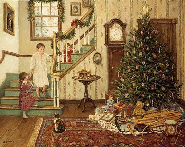 Les images de Noël (Paysages et illustrations féeriques) - Page 2 60fc5b82