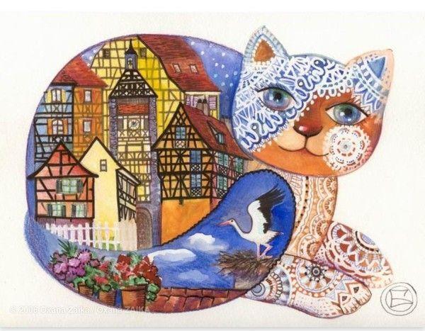 12-Beaux tableaux d' Oxana Zaika
