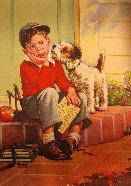 151-Cartes vintages enfants ( F.T.H )