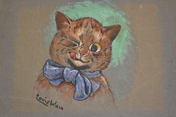 14 chats dans art classique