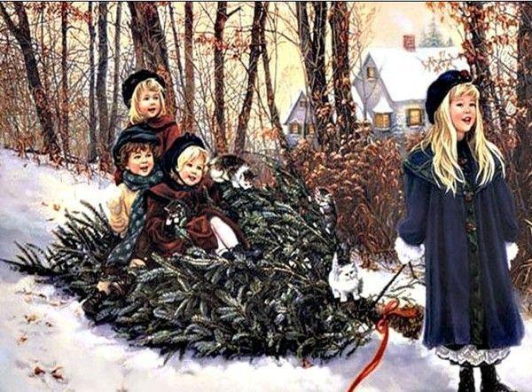 Les images de Noël (Paysages et illustrations féeriques) - Page 2 738dd242