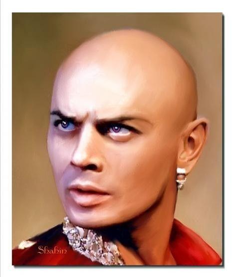 10-Art du portrait par Shahin (portraits de stars )