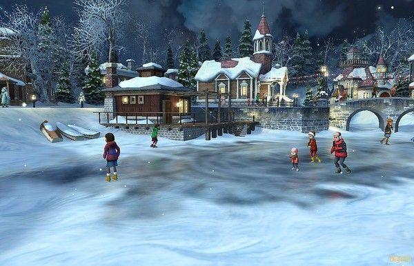 Les images de Noël (Paysages et illustrations féeriques) 75225484