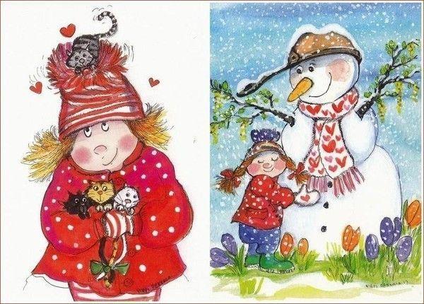 38-Mignonnes illustrations de Virpi Pekkala