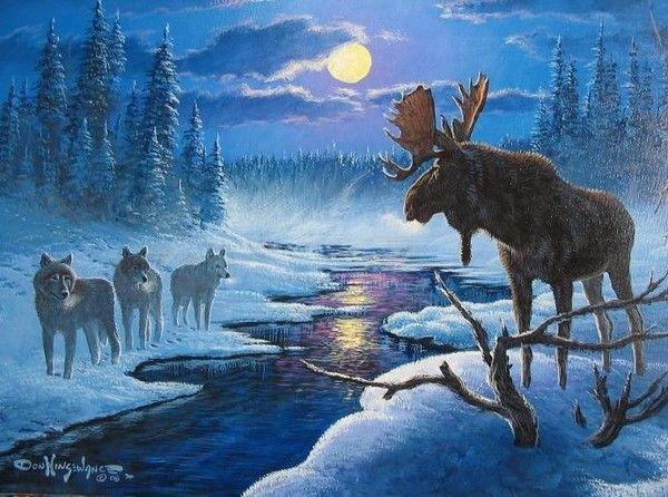 Les images de Noël (Paysages et illustrations féeriques) - Page 2 821480ed
