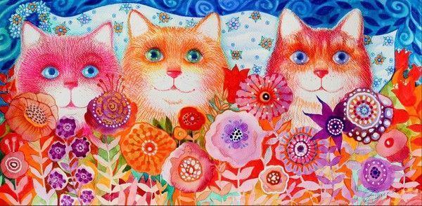 12-Beaux tableaux d Oxana Zaika
