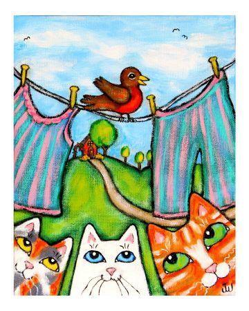 Chats et chiens illustrés