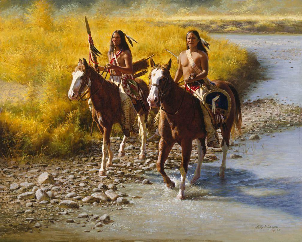 Bekannt Amerindiens western art et divers de Alfredo Rodriguez - Page 8 SF69