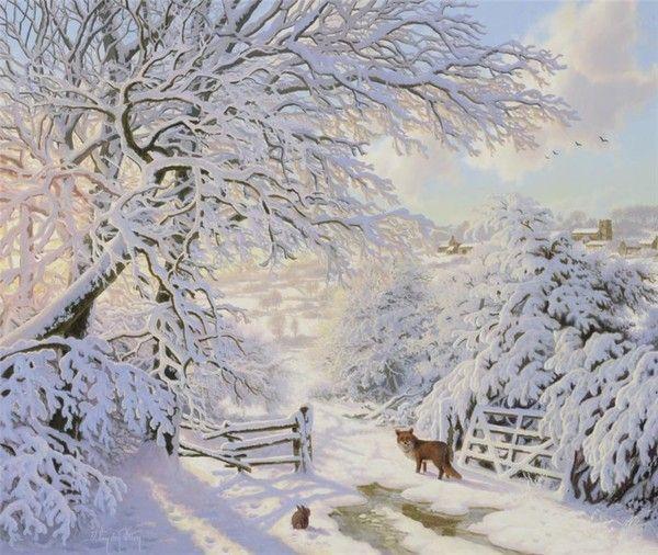 Les images de Noël (Paysages et illustrations féeriques) 9034b527