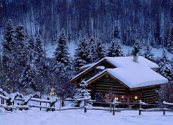 Les images de Noël (Paysages et illustrations féeriques) 9c7d4254