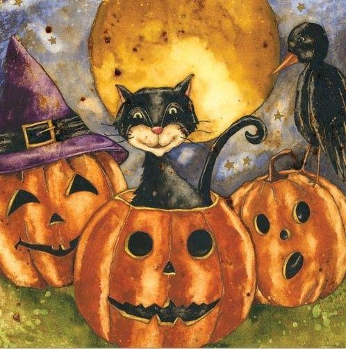 Automne et Halloween ( art )
