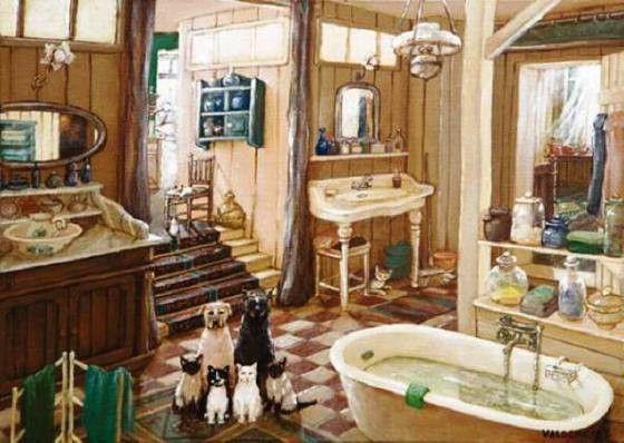 Art deco interieurs & salles de bains 2 ( M.V)