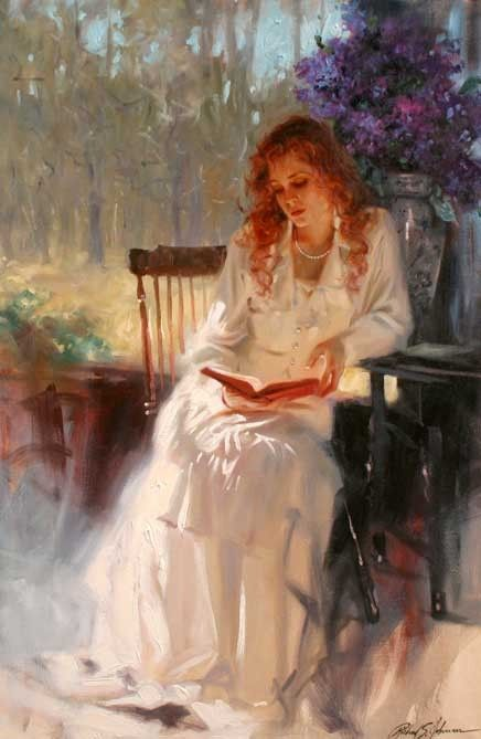 Personnages en peintures  serie C   (  Richard Johnson )