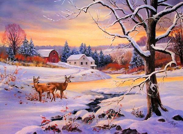 Les images de Noël (Paysages et illustrations féeriques) Aa350cdd