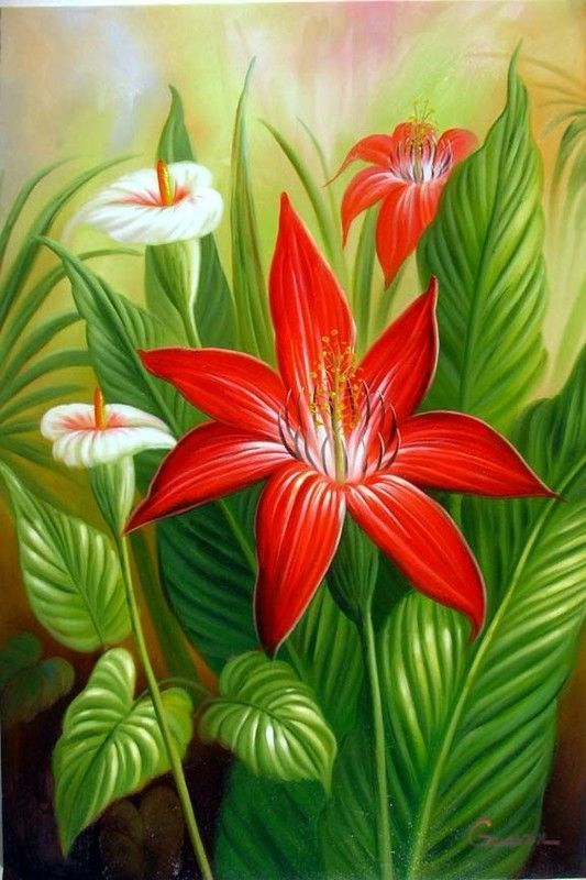 Fleurs et jardins en peinture page 38 for Fleurs et jardins