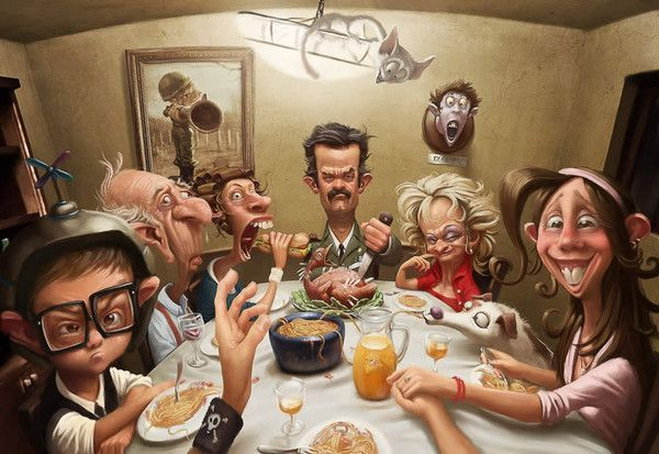 Tableaux art digital divers artistes  2   de  Tiago Hoisel 