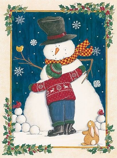 Hiver et Noel ;country &amp; folk art serie A ( D.S )