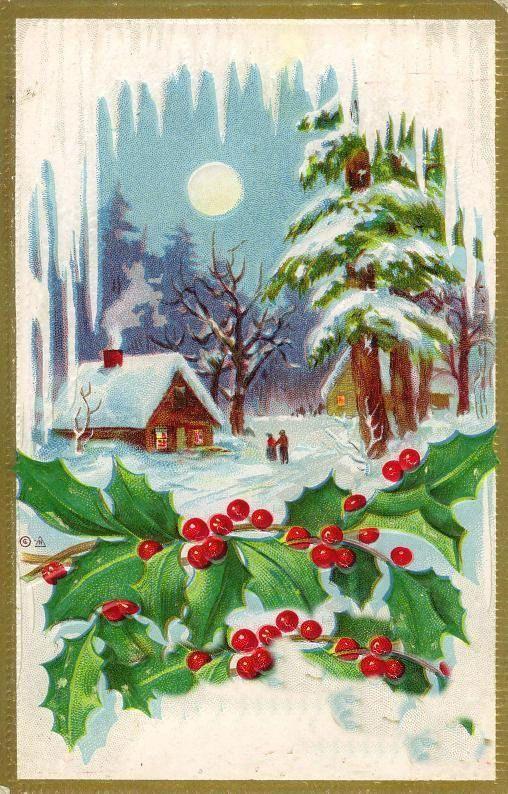 Les images de Noël (Paysages et illustrations féeriques) - Page 2 C13f9bc3