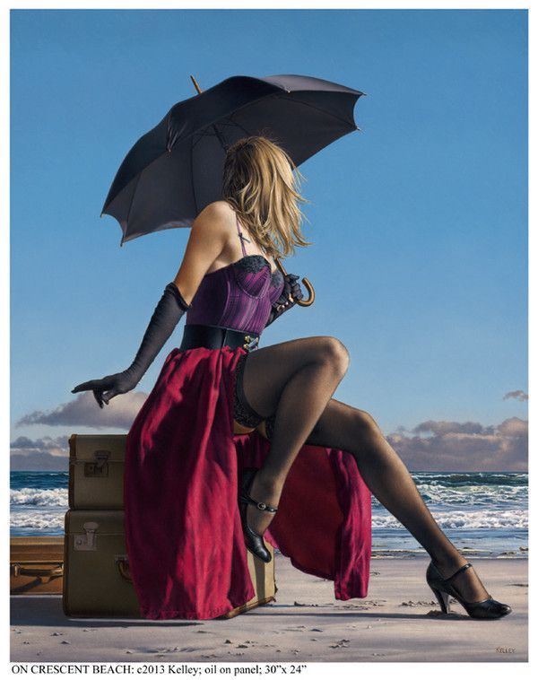 Beaux tableaux de Paul Kelley
