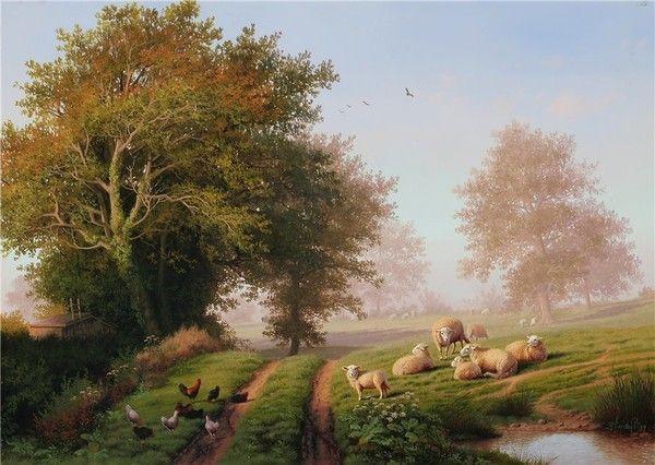 Paysages en peintures serie D ( D.V D P )