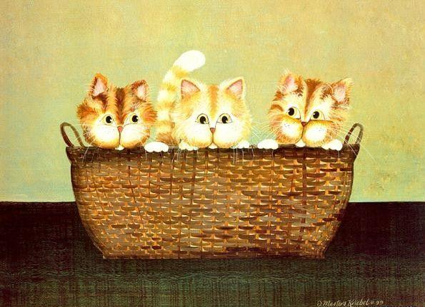 Chats peints : Coffre aux tresors serie B