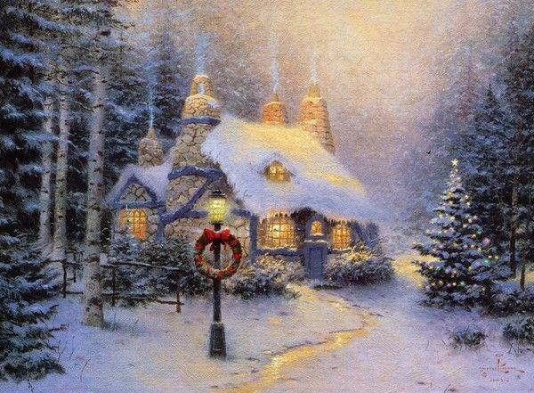 Les images de Noël (Paysages et illustrations féeriques) - Page 2 D429699d