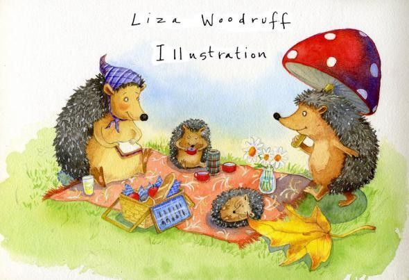 Mignonnes illustrations ( serie A )     Liza Woodruff 