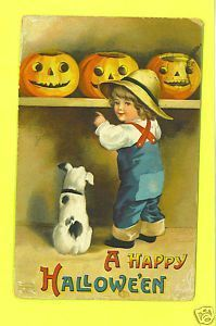 Halloween ( cartes vintage )  E.C