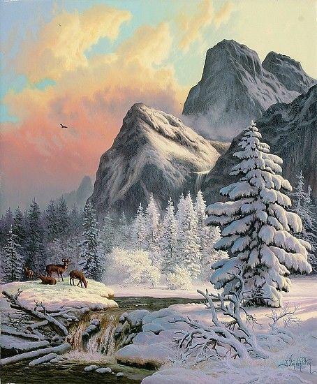 Les images de Noël (Paysages et illustrations féeriques) E843f3c9