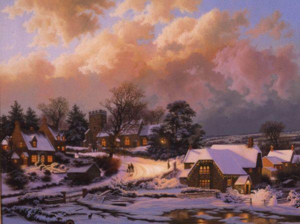 Les images de Noël (Paysages et illustrations féeriques) Ea5b81a5