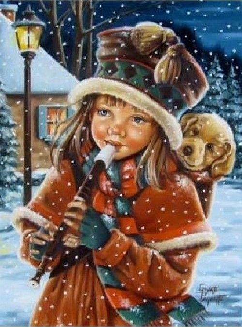 Les images de Noël (Paysages et illustrations féeriques) Eb35a932