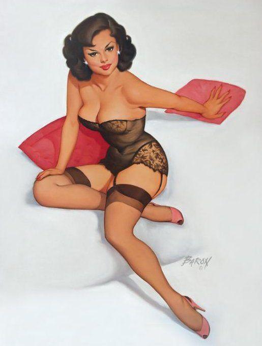 Порно рисунки pin up