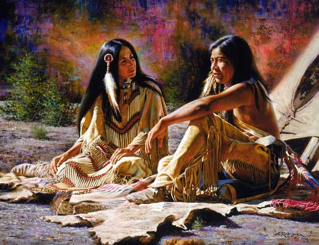 Sehr Amerindiens western art et divers de Alfredo Rodriguez - Page 9 XN99