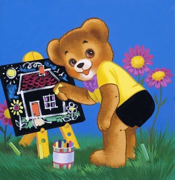 Mignonnes illustrations Teddy Bear